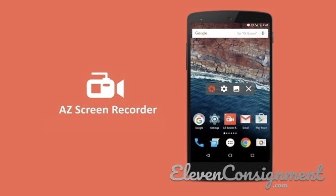Aplikasi perekam layar android AZ Screen Recorder