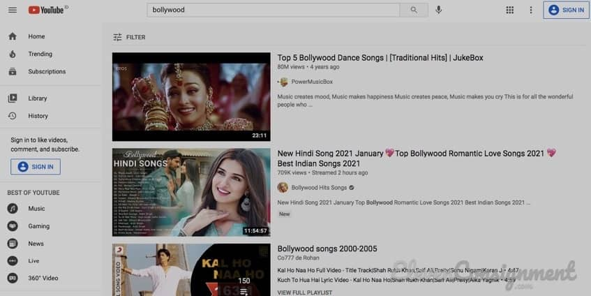Download Film India - Youtube