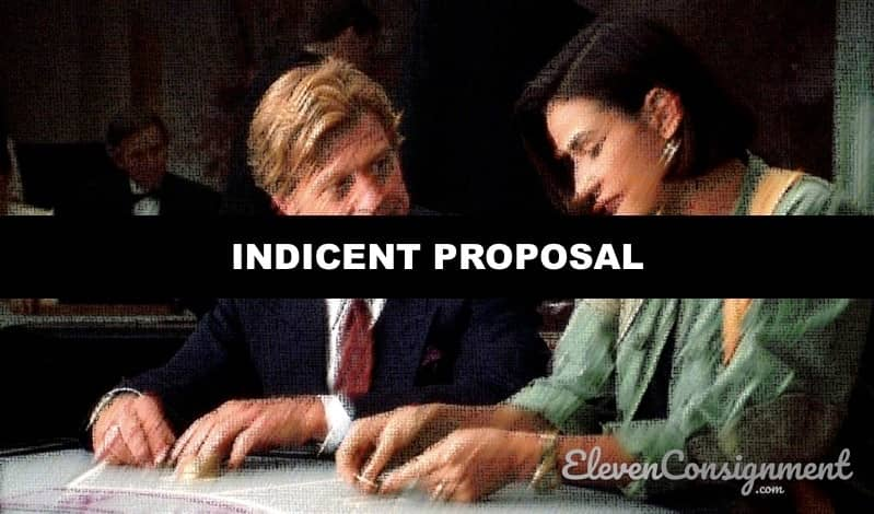 Film Semi Hollywood Indicent Proposal