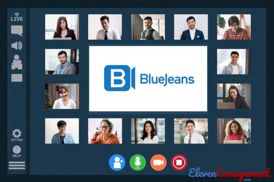 Aplikasi Meeting Online - Blue Jeans