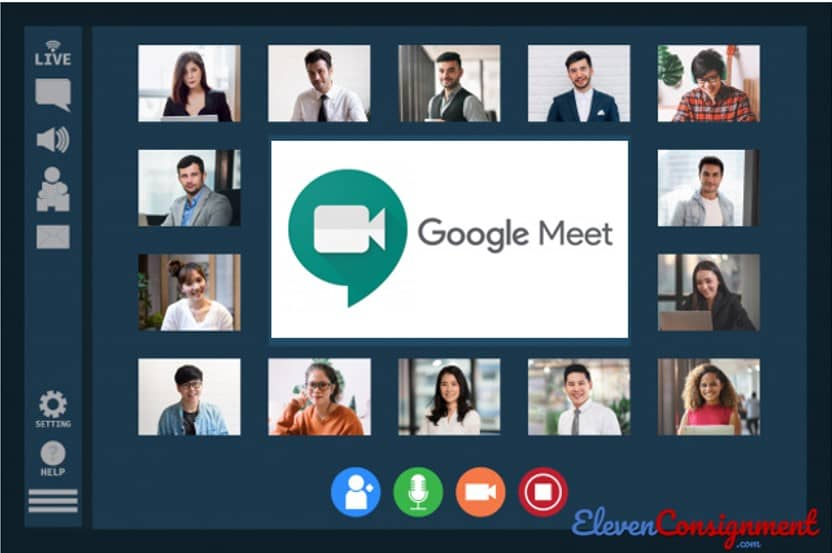 Aplikasi Meeting Online - Google Meet